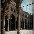 Stock Photo: Old Postcard style, Muhamed Ali mosque, Cairo.