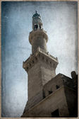 Old Postcard style, Muhamed Ali mosque, Cairo. — Stock Photo