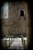 Norman castle in Lagopesole Italy — ストック写真