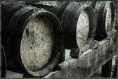 Vinagre balsámico de modena, estilo vintage. — Foto de Stock