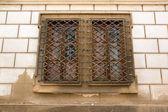 Window grill — Stock Photo