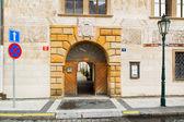 Prague gate — Stock Photo