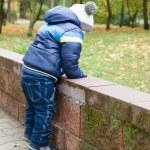Boy in park — Stock Photo