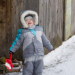 Boy in winter — Stock Photo #39734979