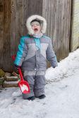 Kış çocuk — Stok fotoğraf