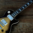 Gibson Les Paul Tobacco Sunburst Guitar - Stock Photo