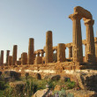 Temple of Juno - Agrigento, Sicily - Stok fotoraf