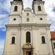Church of the Abbey at Tihany, Hungary — Stock Photo