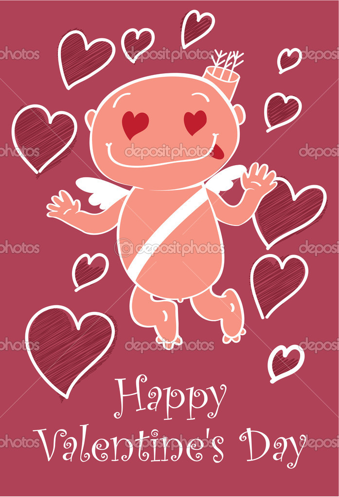 Happy valentine's day — Stock Vector #18603021