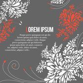 Seamless leaves wallpaper — Stock Vector