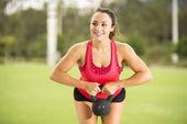 Fitness Girl — Stockfoto