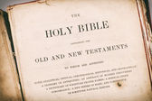 The Bible — Stock Photo