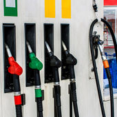 Fuel pumps — Stock Photo