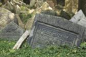 Old Jewish Cemetery - Prague — Stock Photo
