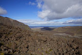 Volcanic Landscape at Tongariro — Stock Photo