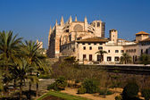 Cathedral of Santa Maria of Palma, Majorca — Stock Photo