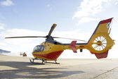 Emergency Helicopter — Stock Photo