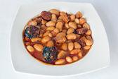 Fabada stew — Stock Photo