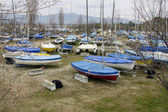 Boat parking — Stockfoto
