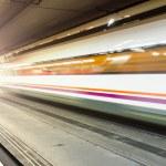 Motion blur train — Stock Photo #36734679