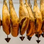Iberian ham — Stock Photo