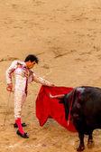 Bullfight in Madrid, Spain — Стоковое фото