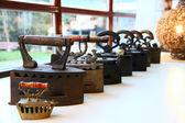 Vintage irons — Stock Photo