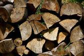 деревянные доски, освещенном солнцем крупным планом — Стоковое фото