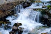 Rocks and waterfall — Stock Photo