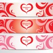 Royalty-Free Stock Vector Image: Valentine\'s Day Banner