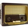 Vintage radio — Stock Photo