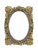 Floral picture frame — Stock Photo