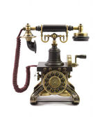 Old fashioned phone — Stock Photo