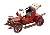 Antique firetruck car — Stockfoto