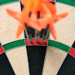 Stock Photo: 180 score on dart board
