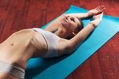 йога расслабление — Стоковое фото