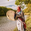 Stock Photo: Wom-shaman