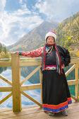 Femme tibétaine — Photo