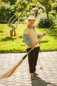 Grounds maintenance — Stock Photo
