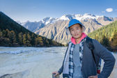 Travel to provinces Sichuan... — Stock Photo