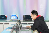Internet cafes — Stock Photo