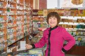 Profession pharmacist — Stock Photo