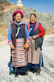 Tibetische frauen — Stockfoto
