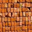 Construction bricks abstract background — Stock Photo