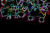 Abstract Defocused lights — Stock Photo