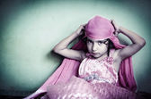 Portrait of fashionable indian asian girl  — Stock Photo