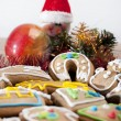 Christmas cookies with little snowman. — Stock Photo #18217919
