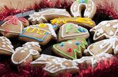 Gingerbread cookies. — Stock Photo