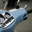 Stock Photo: Scooter gauges