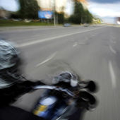 Fast motorcycle — Stock Photo
